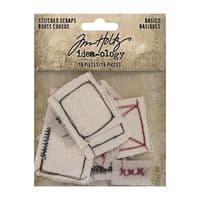 Tim Holtz - idea-ology - Stitched Scraps Basics